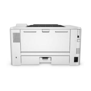 تصویر بخش اتصالات و نمای پشت چاپگر