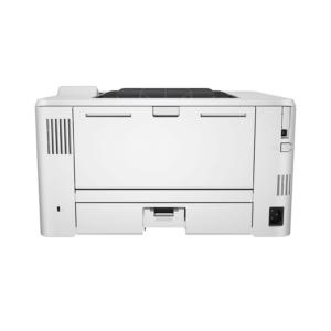 تصویر بخش اتصالات و نمای پشت چاپگر تک کاره اچ پی